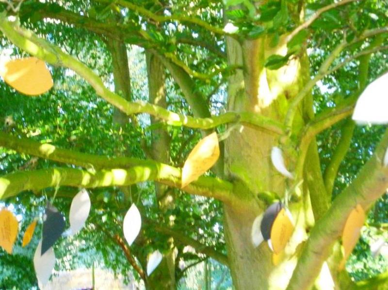 Poet tree on River Waveney Sculpture Trail